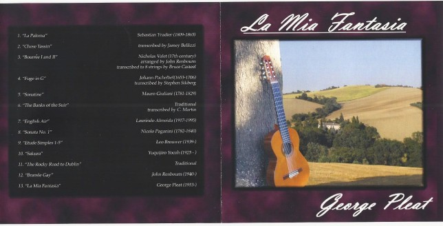 La Mia Fantasia CD Cover